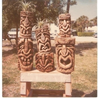 #Primitive Early Tikis#