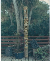 #Totem With Lava Head#